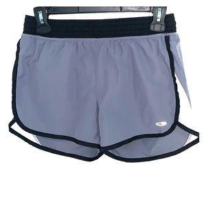 Grey workout shorts